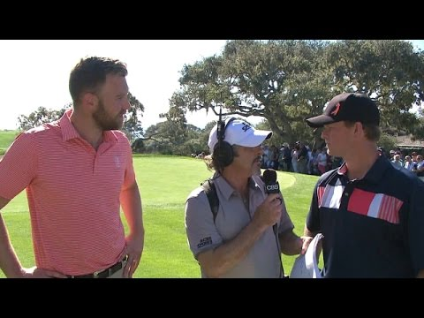 Charles Kelley and Matt Cain comments after Round 3 of AT&T Pebble Beach