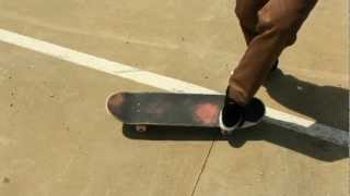 HOW TO HARDFLIP THE EASIEST WAY TUTORIAL