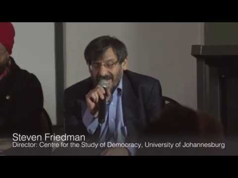 "Steven Friedman: ""No Electoral Game Changer In South Africa Without Another Split In the ANC"""