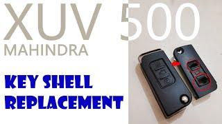 #Mahindra xuv 500 flip key shell replacement