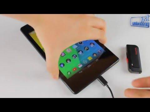 Cómo conectar un pendrive vía OTG a tu Nexus 7 2013 (sin ser root)