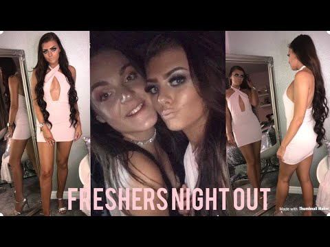 UNI FASHION STUDENT FRESHERS NIGHT OUT! MINI LOOKBOOK! | VLOG PART 2!