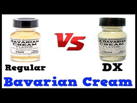 Bavarian Cream Vs DX Bavarian Cream – TFA taste Comparison & Review (DIY Eliquid Flavors)