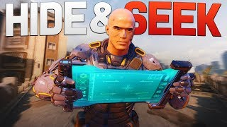 Black Ops 3 Funny Moments - HIDE AND SEEK CUSTOM GAME! (BO3)