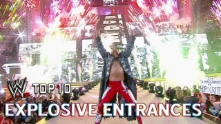 Explosive Entrances - WWE Top 10 - July 4th Edition
