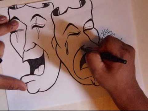Drawing smile now cry later clowns. Video