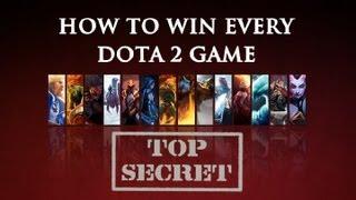 How to Win Every Dota 2 Game!