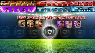 PES 2019 Mobile New Legends italian clubs And All Special Agents Opening||Box Draw||