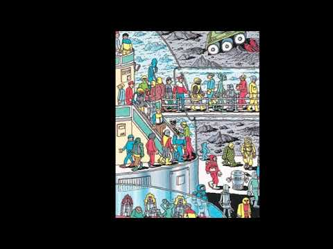Где Уолли? 6 уровень. Where's Wally? 6 level