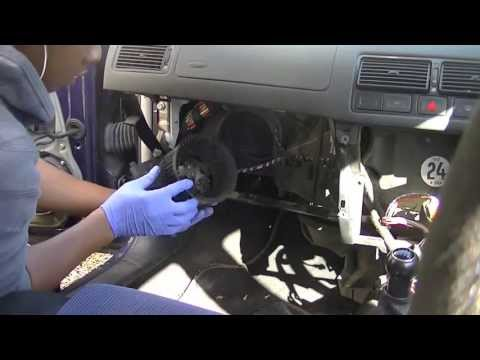 VW Golf Mk4 Resistor &amp; Blower Motor Removal (Simple, Easy, Steps)