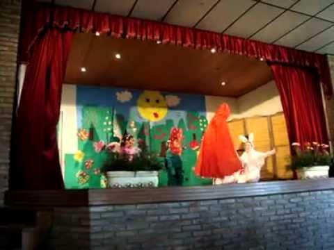 Obra de teatro caperucita roja escena 2 youtube