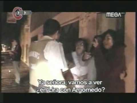 El terremoto captado por el programa 133 de Mega (Completo)