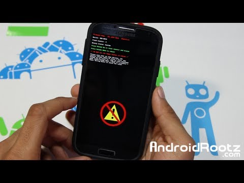 How to Reset Flash / Binary Counter on Galaxy S4! - Triangle Away App