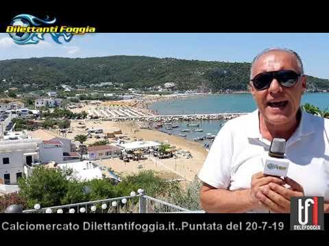VIDEO : CALCIOMERCATO DILETTANTIFOGGIA IT DEL 20 7 19, Che notizie!
