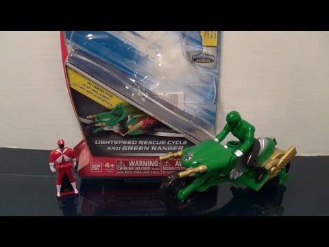 Lightspeed Rescue Cycle Review [Power Rangers Super Megaforce]