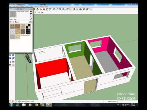 Google Sketchup Ders 4 (HD)