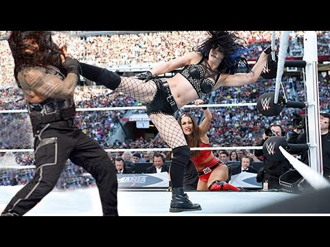 10 BEST WWE Man vs Woman Matches
