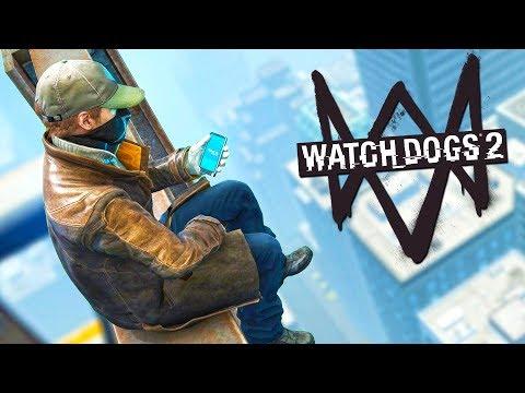 СЛОЖНЫЙ ПАРКУР ПО НЕБОСКРЕБАМ! (Watch Dogs 2)