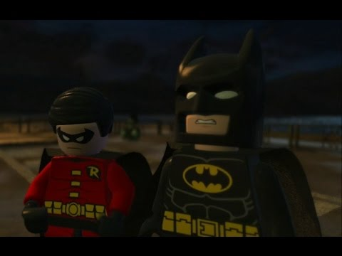 LEGO Batman 2: DC Super Heroes (3DS) - 100% Free Play Guide #2 - Joker Getaway