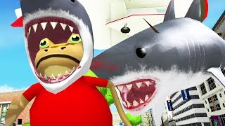 Download Lagu Feeding Shark Frogs to Giant Shark with a Blimp - Amazing Frog - Part 126 | Pungence Gratis STAFABAND
