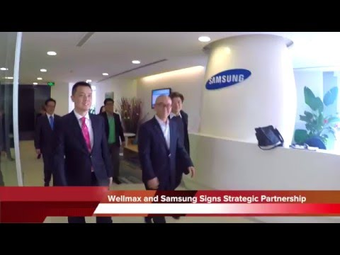 Samsung Electronics And Wellmax Lighting Signs Strategic Partnership MOU
