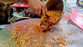 Chole Kulche for Rs 50   Cheapest Chole Kulche in Mumbai   Indian Street Food