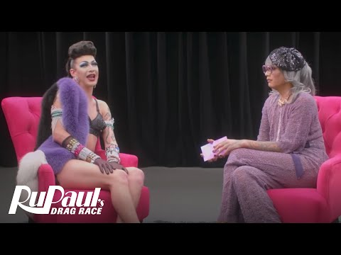 The Pit Stop w/ Raja & Violet Chachki | RuPaul's Drag Race (Season 9 Ep 9) | Now on VH1