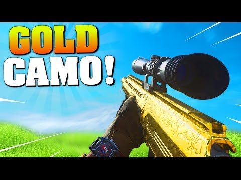 GOLD CAMO UNLOCKED FOR HDR SNIPER! (Road To Damascus Camo #1) MW Sniper Gameplay! #MatMicMar