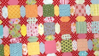 Scrappy Shine Quilt Tutorial