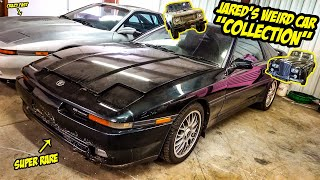"Jared's Insane Car ""Collection"" Is SUPER WEIRD And SUPER COOL"