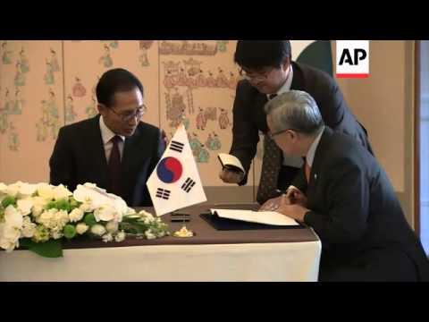 Pakistan President Asif Ali Zardari visits South Korea