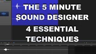 Video Game Sound Design Tutorial - 4 Essential Techniques