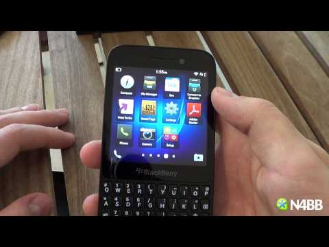 BlackBerry Q5 Software Review