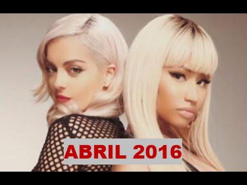 Musica Nueva ABRIL 2016 (Con nombre)