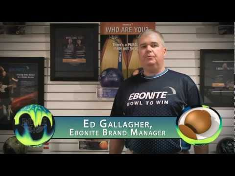 Ebonite Presents The Endure Bowling Ball