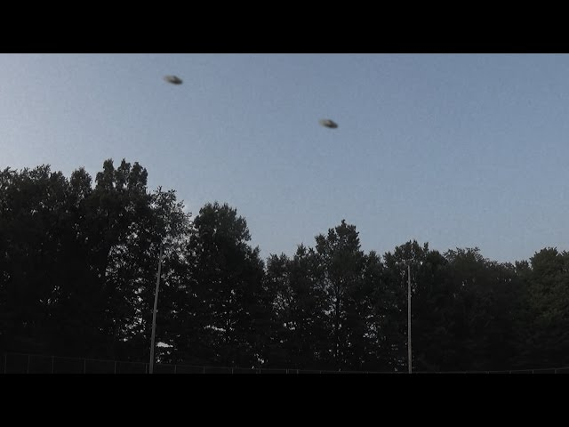 Two UFOs Caught on Tape by Roswell