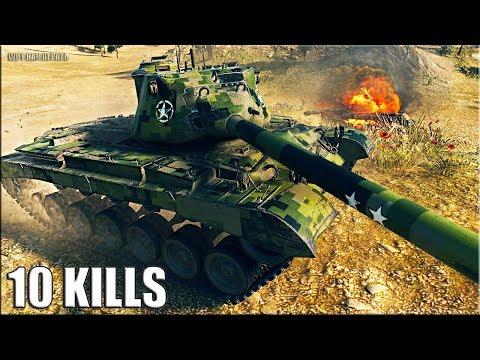 РЕАЛЬНЫЙ ТАНКОМАХАЧ M46 Patton World of Tanks лучший бой ст 9 уровня