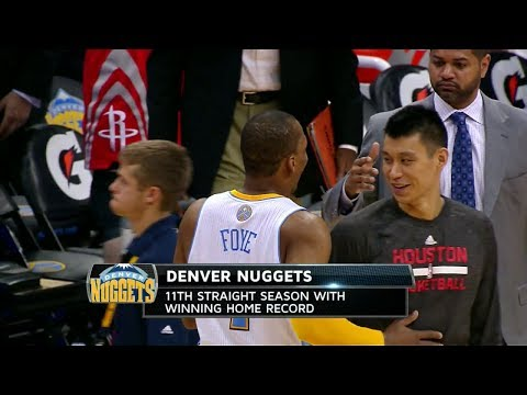 Jeremy Lin (18 pts 6 ast) @ Denver Nuggets 2014-04-09