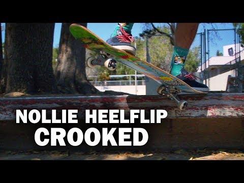 Nollie Heelflip Crook: Sierra Fellers || ShortSided