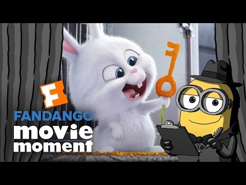 Brian the Minion watches The Secret Life of Pets - Fandango Movie Moment (2016)