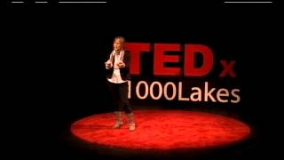 What we learn with pleasure we never forget: Frieda Hall at TEDx1000Lakes