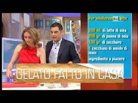 COME FARE IL GELATO FATTO IN CASA SENZA GELATIERA DI LUCIA CUFFARO