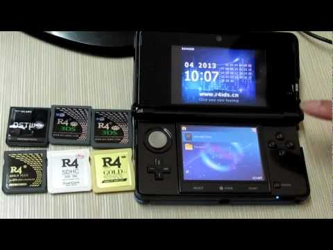 8 Flashcarts Tested on 3DS V5.1.0-11U