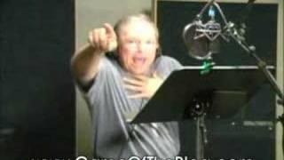Odd Gaming Moments: Frank Welker recording session