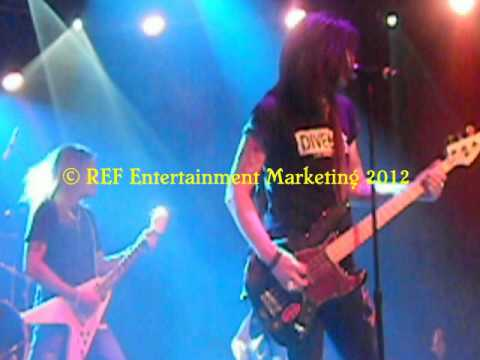 CARLOS CAVAZO does RATT Round&Round Part 1 Las Vegas Copyright REF Entertainment Marketing 2012
