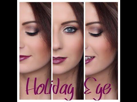 Bright Eyes & Bold Lips: Holiday Tutorial