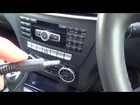Cover Lagu How To connect an Apple iPod, iPhone to your Aux jack on a MERCEDES BENZ C CLASS