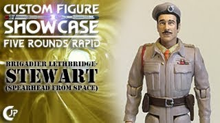 Custom Figure Showcase : Five Rounds Rapid - Brigadier Lethbridge-Stewart (Spearhead From Space)