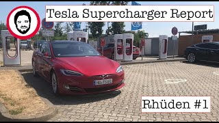 Tesla Supercharger Report Rhüden #1