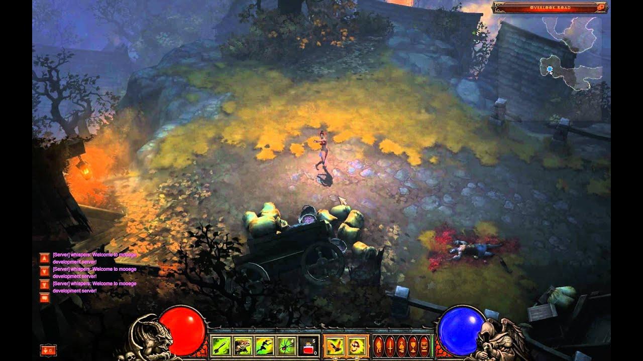 Diablo 3 beta client mooege server